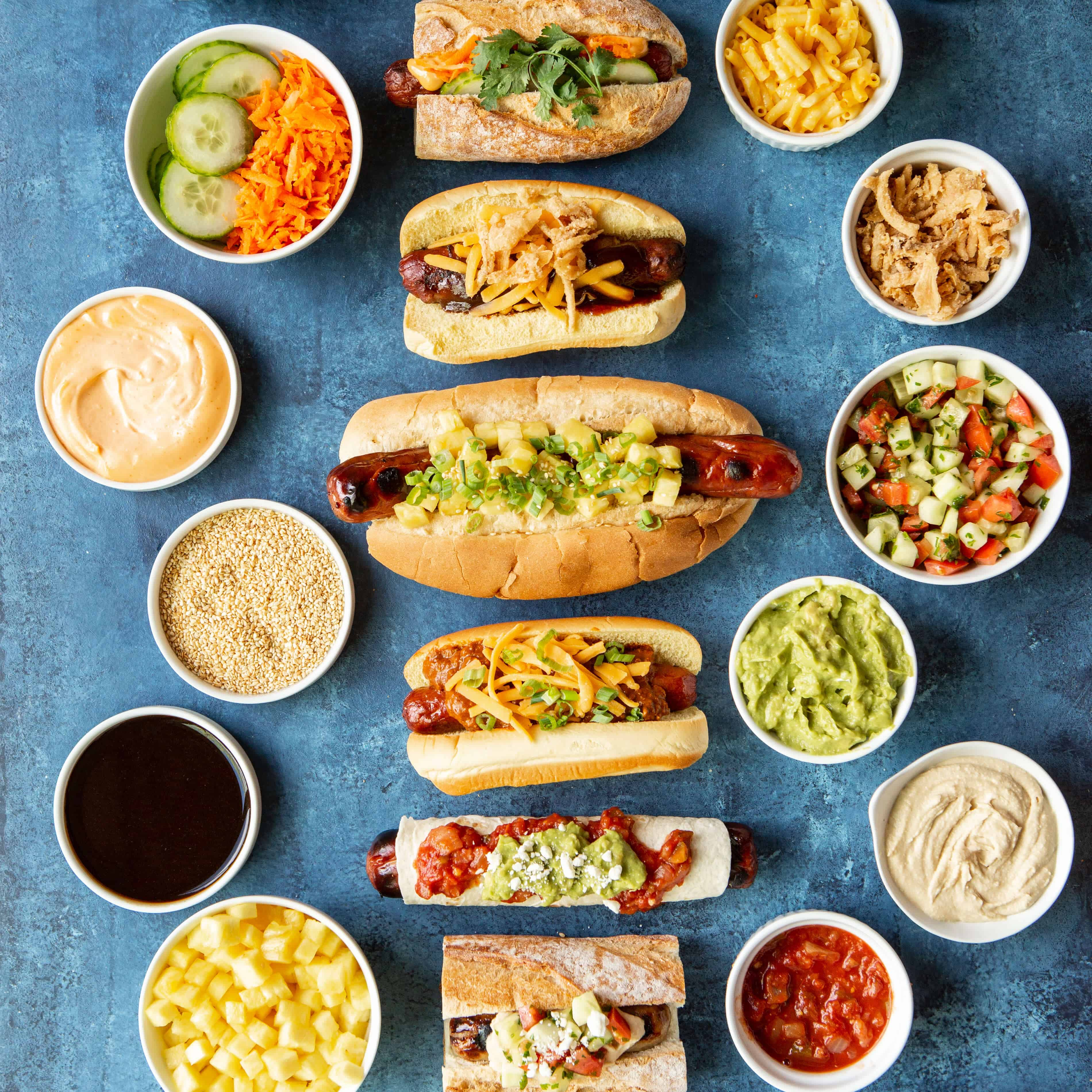 Ultimate Diy Hot Dog Bar Shared Appetite