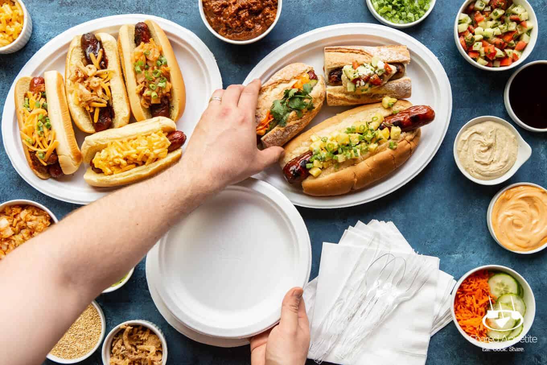 Ultimate DIY Hot Dog Bar