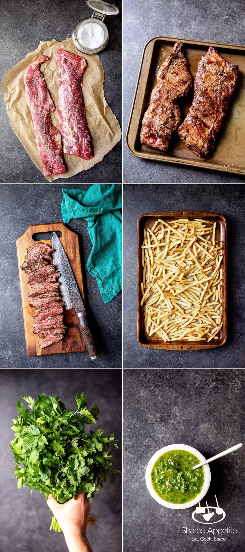 Chimichurri Skirt Steak Fries