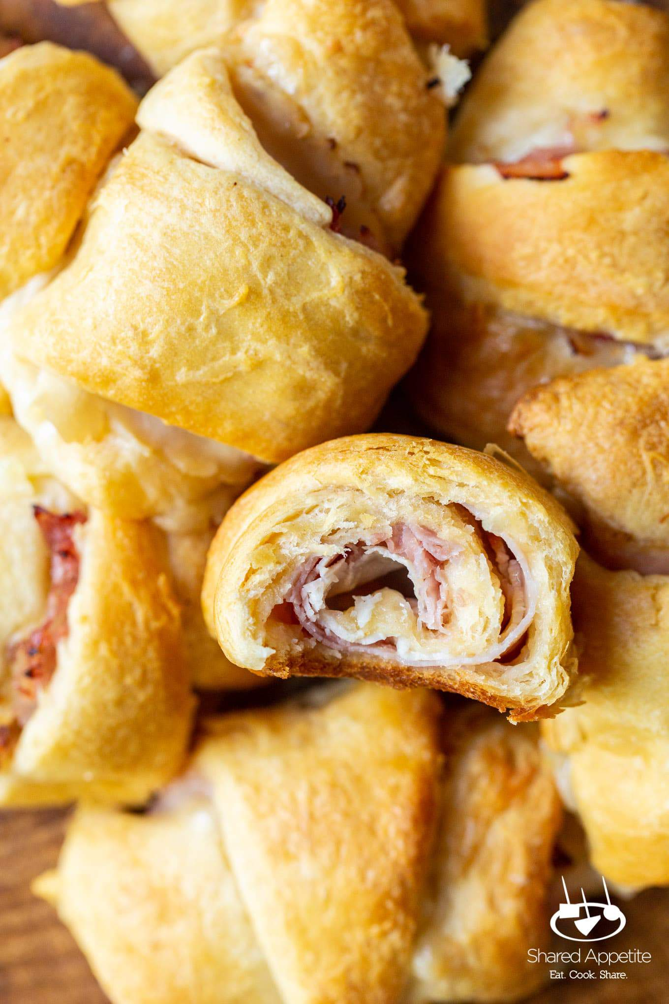Chicken Cordon Bleu Crescent Rolls