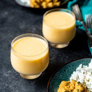 How to Make Quick and Easy Four Ingredient Mango Lassi