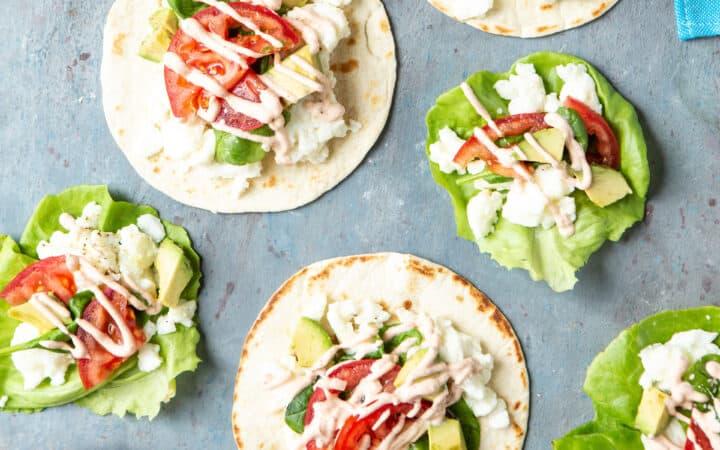 Healthy California Breakfast Tacos